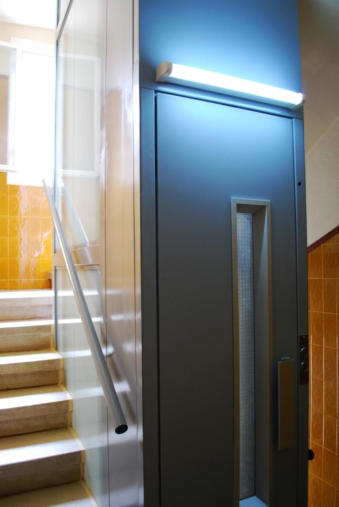 ascensor rehabilitado