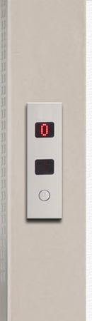 marco derecho ascensor botones